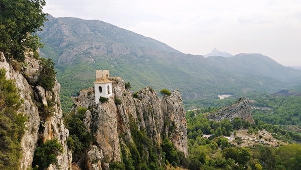 Guadalest, region Walencji