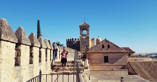 Alcazar południe Hiszpanii