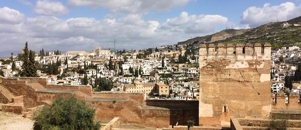 Alhambra południe Hiszpanii